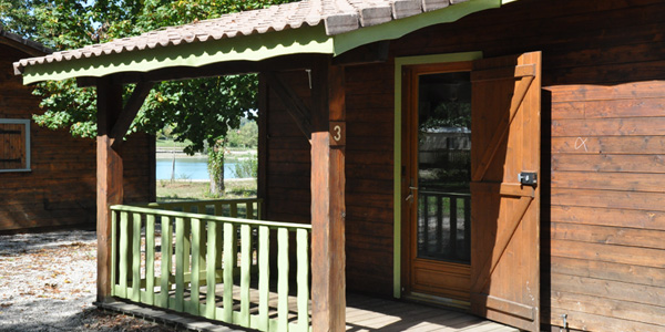 Chalet location Camping isère