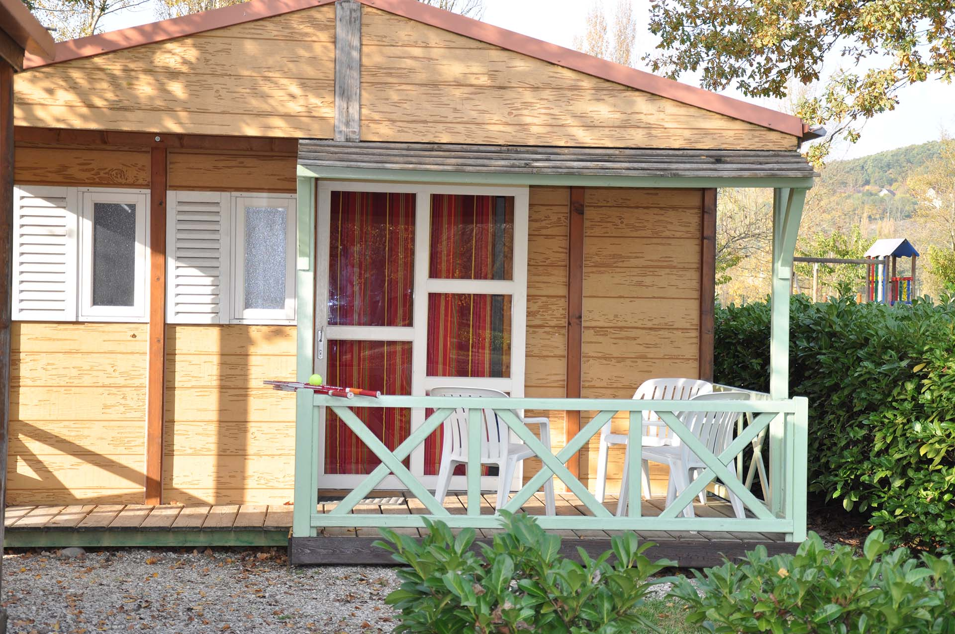 Mobil-home location Camping isère