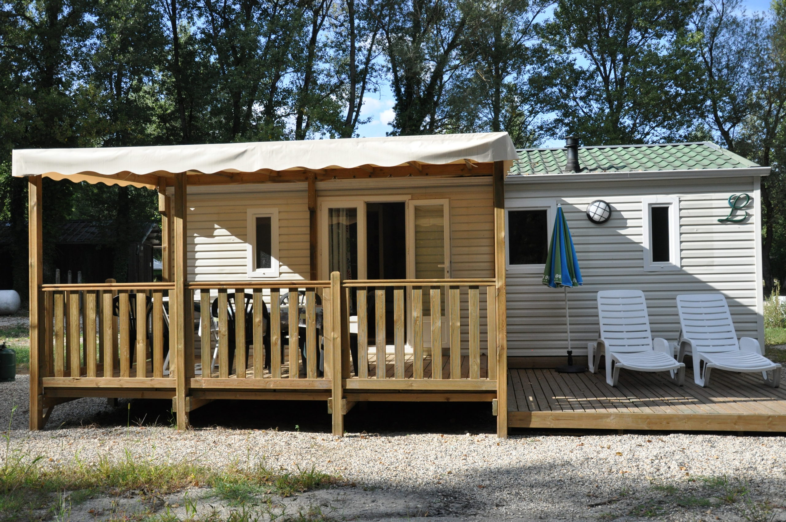Mobil-home location Lousiane Camping isère