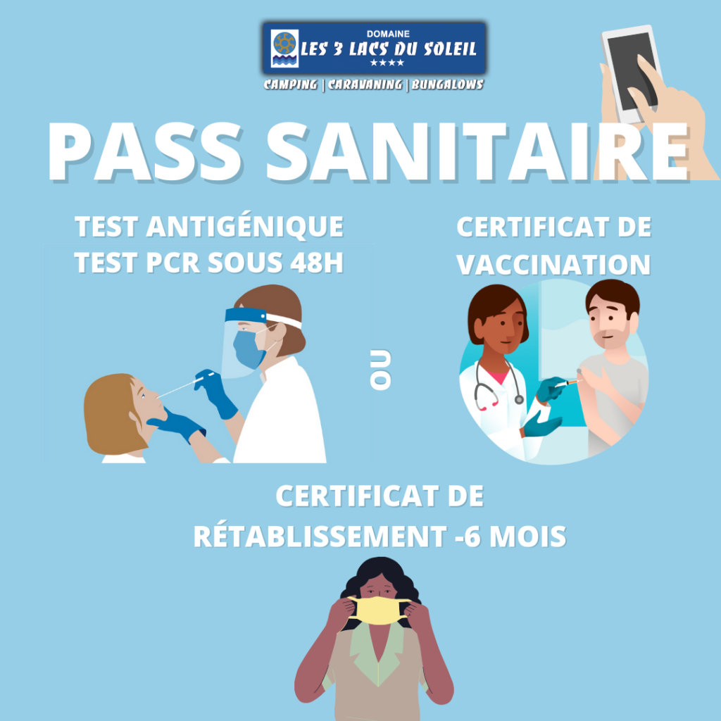 pass sanitaire camping Covid-19